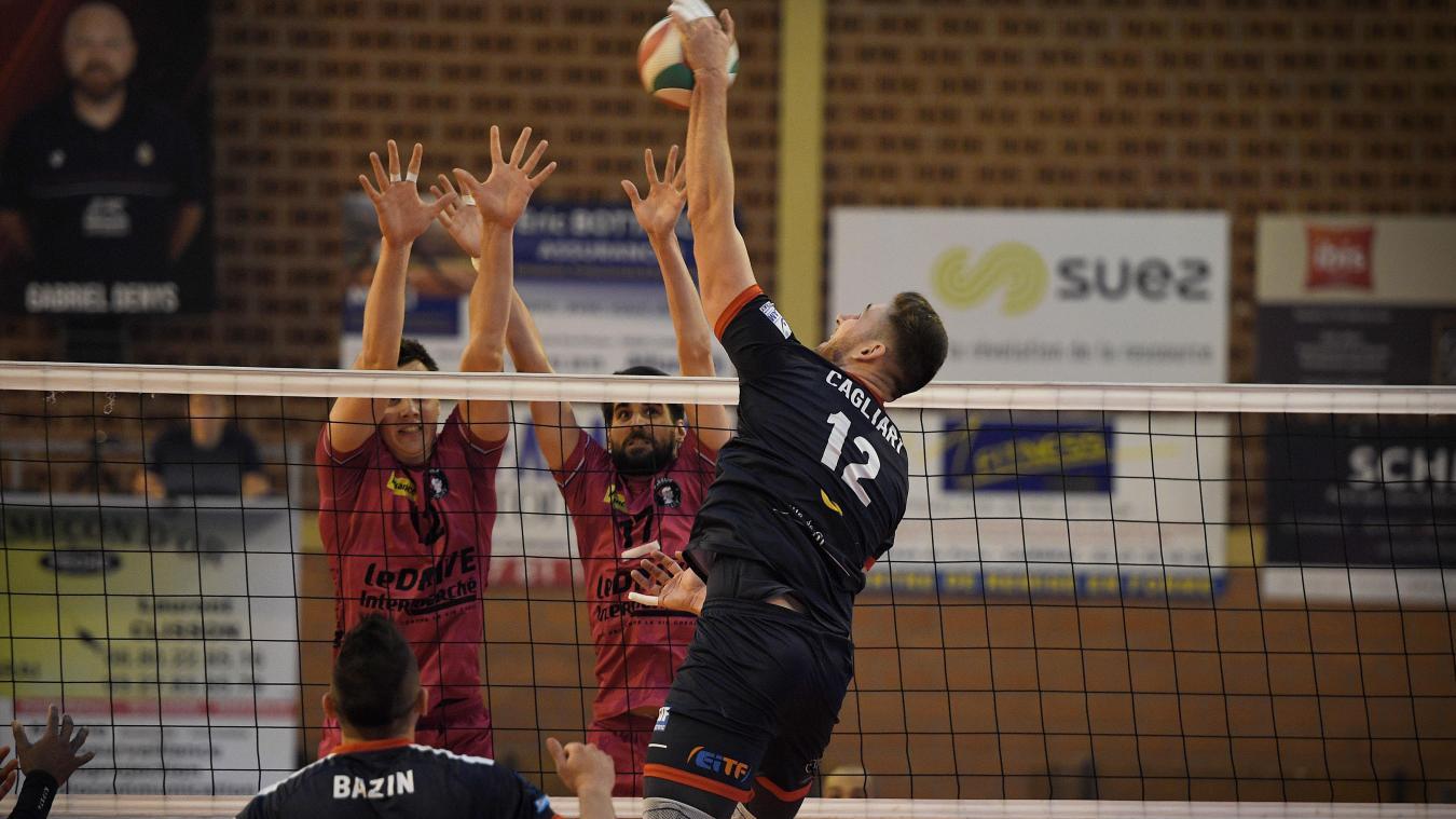 Match de volley à Cambrai