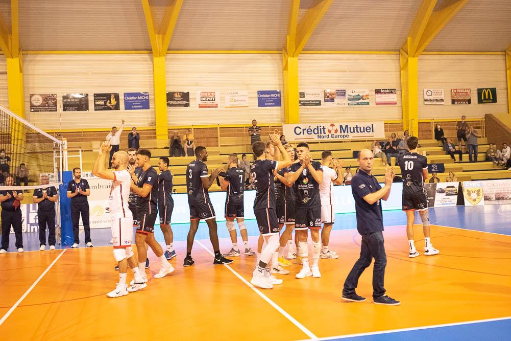 match cambrai volley 25 septembre